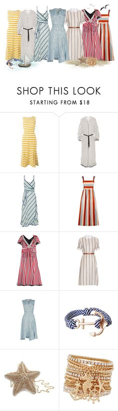 """Striped dress"" by lorika-borika on Polyvore featuring мода, Dolce&Gabbana, Zimmermann, Tory Burch, RED Valentino, Marc Jacobs, Altuzarra, Carven, Humble Chic и Judith Leiber"