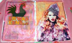 Caatje's Artsy Stuff: Easy Peasy Journal Tutorial - Part two: decorating pages