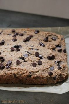 vegan blondies- can be clean by switching some ingredients around
