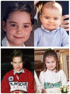 Prince Luis looks like Kate Middleton his momma and princess Charlotte looks like her father Prince William Prince William Family, Prince William And Harry, William Kate, Royal Prince, Prince And Princess, Princess Kate, Duchess Kate, Duke And Duchess, Duchess Of Cambridge