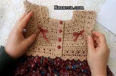 Boy Crochet Patterns, Baby Girl Dress Patterns, Crochet Girls, Crochet Chart, Baby Dress, Crochet Baby, Crochet Top, Indian Designer Outfits, Little White