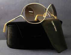 TOM FORD MIRANDA TF130 color 28F Sunglasses...Love my glasses