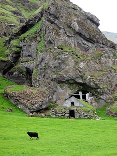 Sheep house in southern Iceland