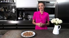more than a model <3..great recipes <3..Mirander Kerr (mother, wife and model) <3.. Coconut Oil <3.  Apple-Banana Muffin recipe <3, chicken recipe <3