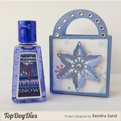 Creative Inspirations Paint Fairy Dust on the Snowflake