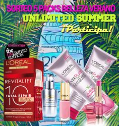 #Sorteo L'Oréal Paris #unlimited #summer #belleza http://www.theunlimitededition.com/concursos/nuevos-concursos/sorteo-unlimited-summer-de-l-oreal-paris
