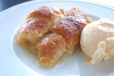 Apple Dumplings by The Pioneer Woman Ree Drummond ~ so sweet, easy to make and use some surprising ingredients.  I like serving them for dessert with vanilla ice cream, but have been know to eat them for breakfast as well.