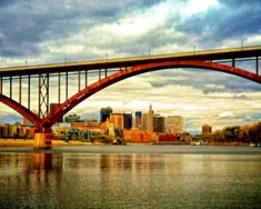 High Bridge over the Mississippi River with by LifeTravelPhotos