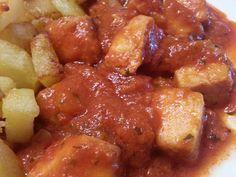 Y el brunch de hoy... bonito con tomate, mirad q pinta!!! Si gustais...