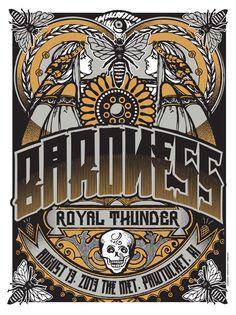 GigPosters.com - Baroness - Royal Thunder