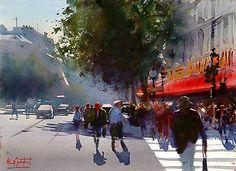Alvaro Castagnet Watercolors