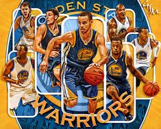 Golden State Warriors wallpaper on Behance