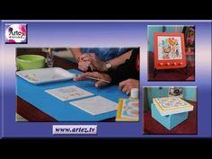 Decoración de azulejos con pintura acrílica