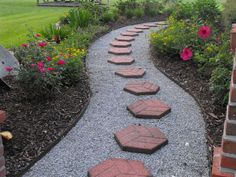 Gravel Paths and Stepping Stones Perhaps? by Susie Harris