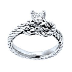 Unique Engagement Ring Diamond Engagement ring by JewelryYourStyle, $2900.00