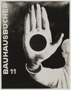 László Moholy-Nagy Bauhausbücher 11 (Bauhaus Books Gelatin silver x 4 x cm) Moma, Zine, Laszlo Moholy Nagy, Pop Art, Philip Johnson, Walter Gropius, Bauhaus Design, Gelatin Silver Print, Paul Klee