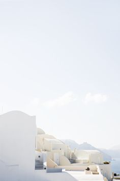 Santorini - Photograph by Medina Lind The Places Youll Go, Places To See, Minimalist Wallpaper, Paradis, Santorini Greece, Santorini House, White Aesthetic, Architecture, Places To Travel
