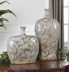 Citrita Decorative Ceramic Vases Set/2