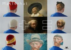 One of the 10 finalist of the Rijksstudio Awards: Masterhat by Joost van Bergen, Dirk Schlebusch en Onne Walsmit