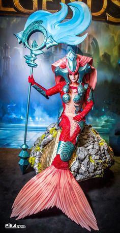Koi Nami Cosplay League of Legends by NereideCosplay.deviantart.com on @deviantART