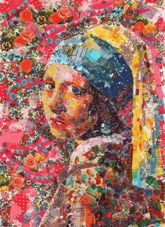 Nasa Funahara || Girl with a Pearl Earring, Johannes Vermeer