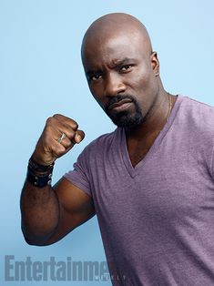 Comic-Con 2016 Star Portraits: Day 1 | Mike Colter, 'Marvel's Luke Cage' | EW.com