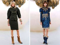 Modern Medieval Fashion - The Chanel Fall 2010 Haute Couture Collection is Old World Chic (GALLERY)