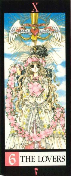 6 'The Lovers' (personificado por Kotori Munou) Tokyo Babylon, Manga Anime, Anime Art, Magic Knight Rayearth, Xxxholic, Tarot Major Arcana, Card Captor, Manga Artist, Oracle Cards
