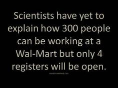I've always wondered about that...  there are usually more employees standing around in front of the registers trying to look important...