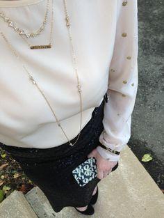 HCM sandbar necklace feature on Leopard & Latte Blog.  http://leopardandlatte.com/2013/11/18/its-all-in-the-details-feature-happy-clam-monogram/