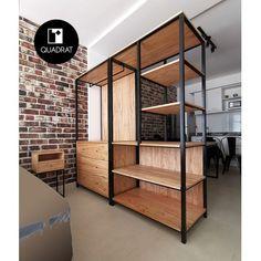Shop Shelving, Shelves, Small Room Bedroom, Closet Designs, Walk In Closet, Shabby Chic Style, Loft, Furniture, Tv