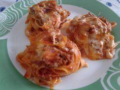 Nidi di tagliatelle Antipasto, Macaroni And Cheese, Spaghetti, Chicken, Ethnic Recipes, Pane, Food, Pizza, Collections
