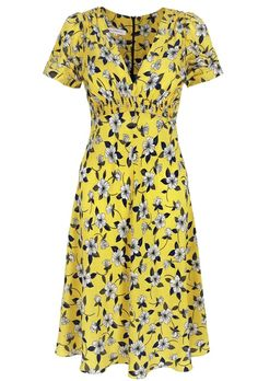 Based on our 1930s silk tea dress cut which is our best selling signature tea dress style because of its flattering nature, unique charm and versatility. This fabulous silk tea dress can be styled up or down to take you from summer days to society events with simple styling tricks of adding kitten heels and pill box millinery! Fully lined in silk.