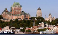 QUEBEC, CANADA.  Been there few times and is one of mine and my husbands favorite places in the world. BEST spa's!!!!!! Cutest boutiques ever. And weve stayed at the Chateau Frontenac.... first class luxury! And enjoyed horse & carriage ride in the snow, the ice sculptures, great dining, and where a street artist did a caricature of us. LOVE Quebec, especially quebec city.
