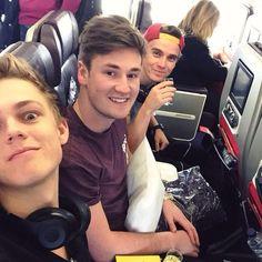 Caspar , Oli and Joe