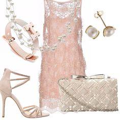 Il vestito ріс' bianco e oro