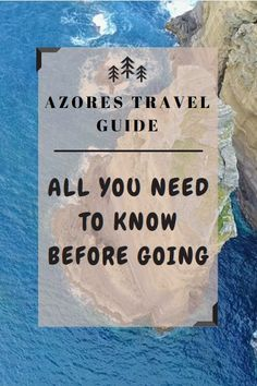 Travel tips and advice with everything you need to know before a trip to the magical Azores Islands in Portugal!