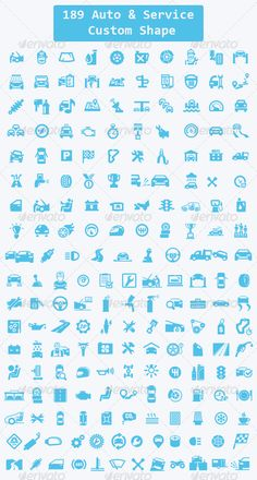 189 Auto, Service Custom Shape - Miscellaneous Shapes