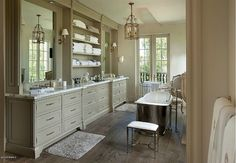 Traditional Master Bathroom with Cayman China Bathroom Sink by D'Vontz, Master bathroom, Hardwood floors, Flat panel cabinets Exeter, Small Bathtub, Mansions For Sale, Mega Mansions, Beautiful Bathrooms, Luxury Real Estate, Luxury Homes, House Design, Interior Design