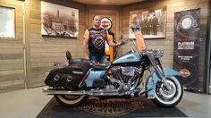 Congratulations Emery on your purchase of a 2007 Roadking from me here at Harley Davidson of Kokomo!