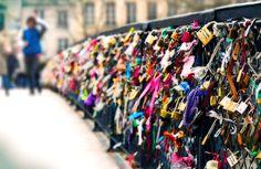 lovers bridge over the Seine <3