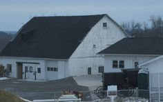 Barns and Outbuildings on an Amish Farm~ Sarah's Country Kitchen ~
