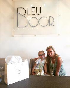 Little Addie was such a BIG help at #bleudoorboutique #shoplocal #chattanooga by bleudoorboutique