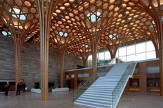 Shigeru Ban's Gorgeous Nine Bridges Golf Club House Is Inspired By Traditional…