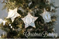 Mary's Meanderings: Christmas Bunting