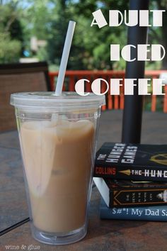Adult Iced Coffee from Wine & Glue