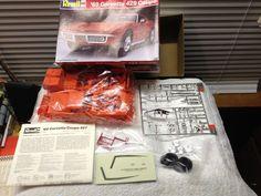 Revell 1969 Chevy Corvette 429 Coupe Model Kit #7149  1:25 1989 Error Print #Revell