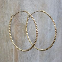 Genevieve Hoop, Acanthus, AcanthusJewelry.com, $80