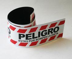 Imán Peligro Dieta - Regalos Originales