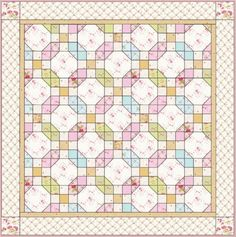 Learn how to make this Durhamshire Quilt with this FREE Tutorial.